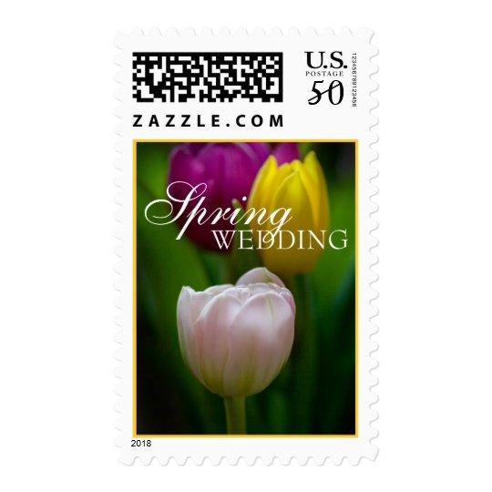 Spring Wedding Postage