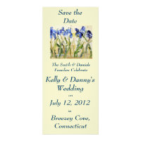 Spring Wedding Save the Date Invitation