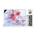 Spring Wedding stamps