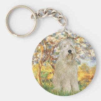 Spring - Wheaten Terrier 7 Keychain