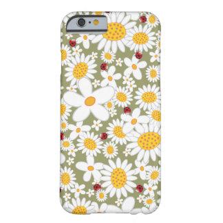 Spring White Daisies Ladybugs iPhone 6 case