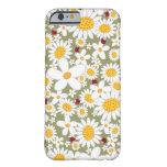 Spring White Daisies Ladybugs iPhone 6 case iPhone 6 Case
