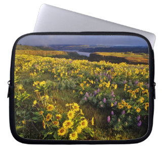 Spring wildflowers in abundance at the Tom Laptop Computer Sleeves