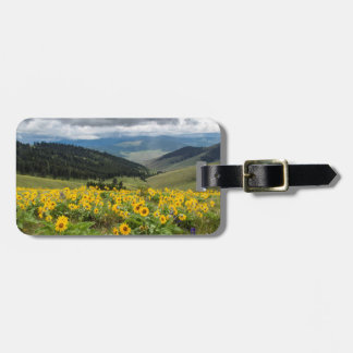 Spring Wildflowers In The Hills Bag Tag