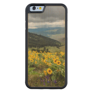 Spring Wildflowers In The Hills Carved Maple iPhone 6 Bumper Case
