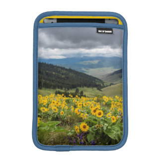 Spring Wildflowers In The Hills iPad Mini Sleeve