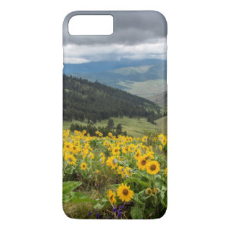 Spring Wildflowers In The Hills iPhone 7 Plus Case