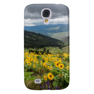 Spring Wildflowers In The Hills Samsung S4 Case