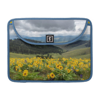 Spring Wildflowers In The Hills Sleeve For MacBook Pro