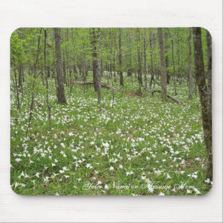 Spring wildlflowers along the Flint River, Georgia Mouse Pad