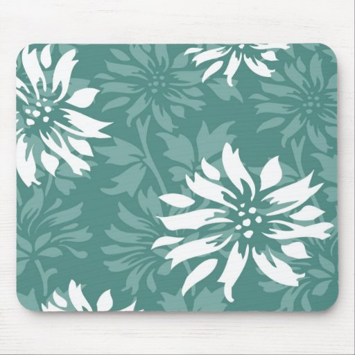 Spring & Winter Floral Mousepad