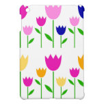 SPRING WONDERFUL HAND DRAWN TULIPS iPad MINI COVERS