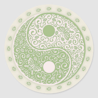 Spring Yang Classic Round Sticker