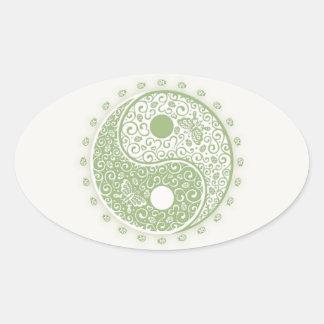 Spring Yang Oval Sticker