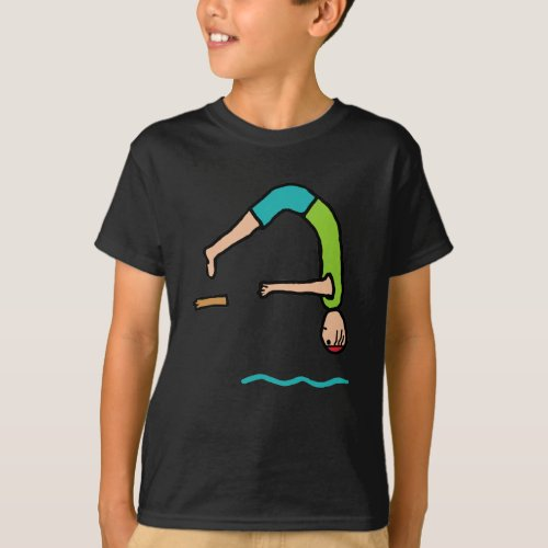 Springboard Diving T_Shirt