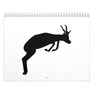 Springbok Calendar