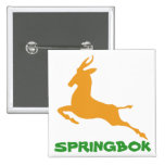 Springbok Pinback Button