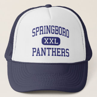 Springboro - Panthers - High - Springboro Ohio Trucker Hat
