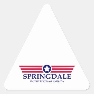 Springdale Pride Triangle Sticker