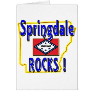 Springdale Rocks ! (blue) Card