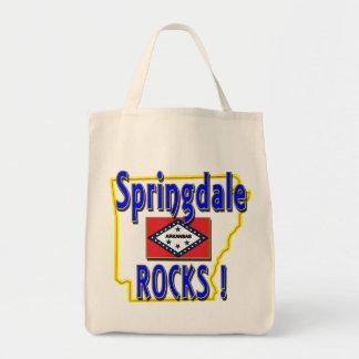 Springdale Rocks ! (blue) Tote Bag