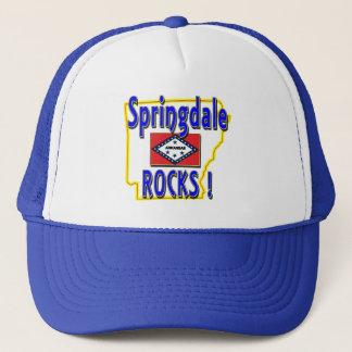 Springdale Rocks ! (blue) Trucker Hat