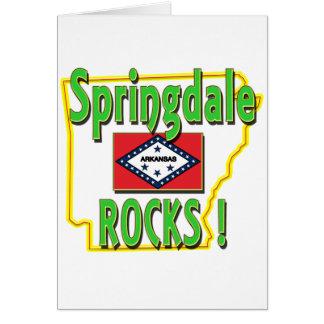 Springdale Rocks ! (green) Card