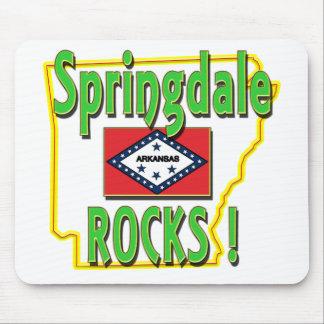 Springdale Rocks ! (green) Mouse Pad