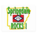 Springdale Rocks ! (green) Postcard