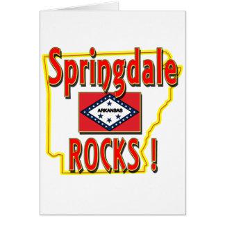 Springdale Rocks ! (red) Card