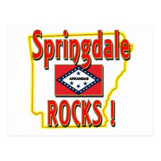 Springdale Rocks ! (red) Postcard