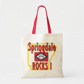 Springdale Rocks ! (red) Tote Bag