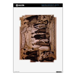 'Springer Brothers, Boston, Fall and Winter Collec iPad 3 Decals