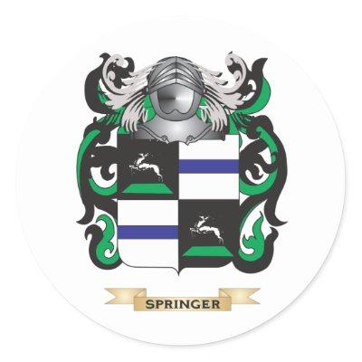 Springer Family Crest