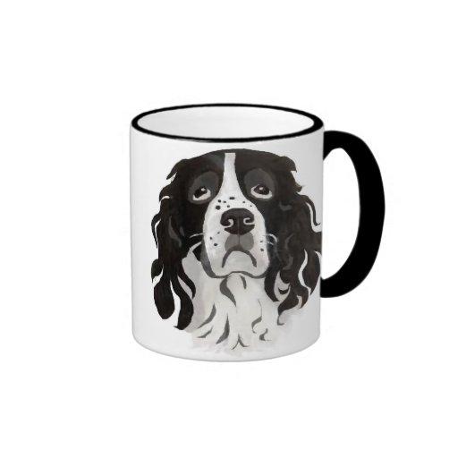 Springer face coffee mugs
