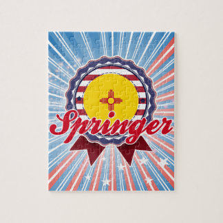 Springer, NM Jigsaw Puzzle