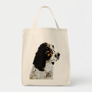 Springer Spaniel Dog Art Bags