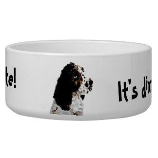 Springer Spaniel Dog Art Bowl