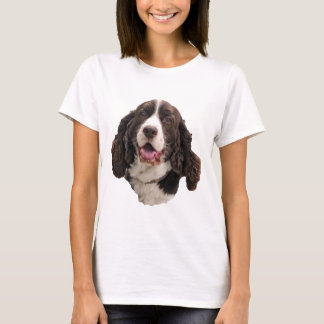Springer Spaniel Head T-Shirt