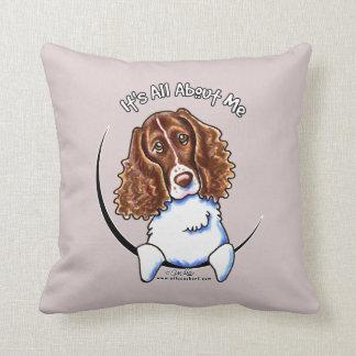 Springer Spaniel IAAM Throw Pillow