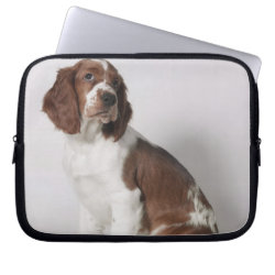 Neoprene Laptop Sleeve 10 inch with Springer Spaniel Phone Cases design