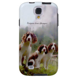 Case-Mate Barely There Samsung Galaxy S4 Case with Springer Spaniel Phone Cases design
