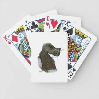 Springer Spaniel, tony fernandes Bicycle Playing Cards