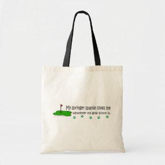 SpringerSpaniel Tote Bag