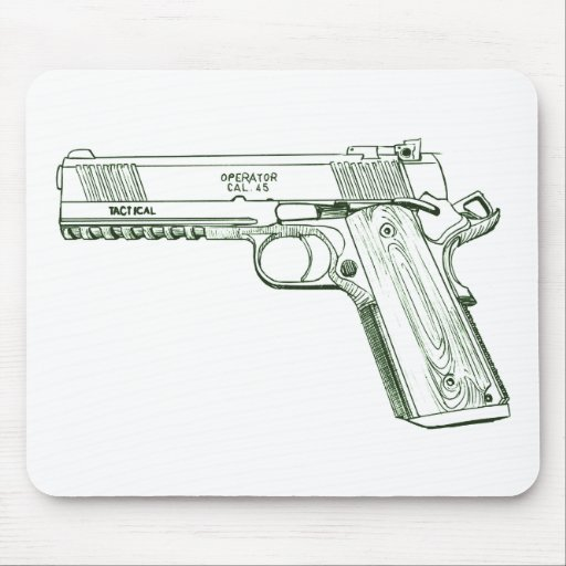 Springfield 1911 TRP Operator Full Dust Mouse Pad