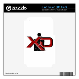 Springfield Armory XD iPod Touch 4G Decal