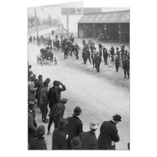 Springfield Auto Race: 1900 Card