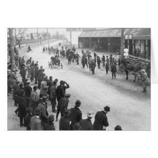 Springfield Auto Race: 1900 Greeting Card
