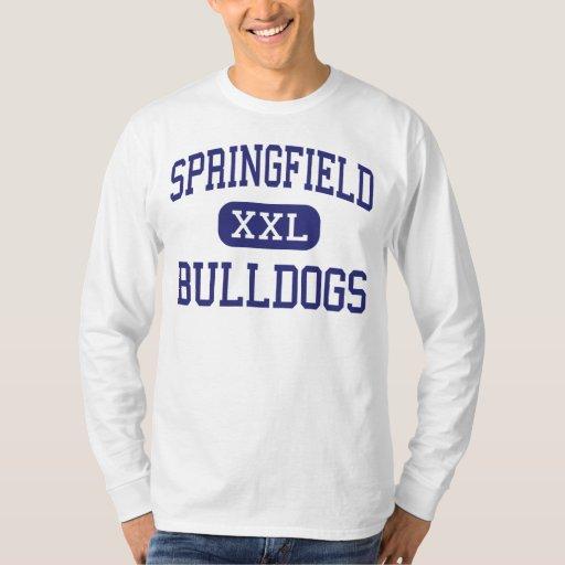 Springfield Bulldogs Middle Springfield Tees