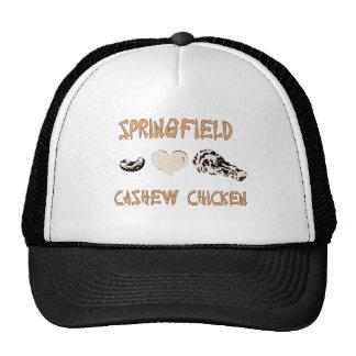 Springfield cashew chicken hat
